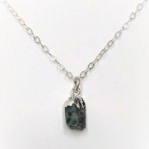 Natural Emerald Stone Pendant