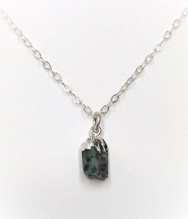 Natural Emerald Stone Pendant